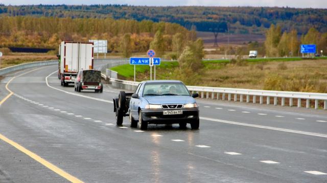 В Свердловской области отремонтировали 24 км федеральных трасс