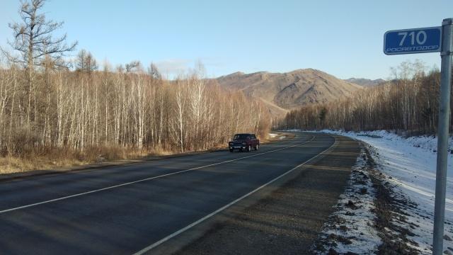 В Республике Тыва отремонтировали 72 км федеральной трассы Р-257 «Енисей»