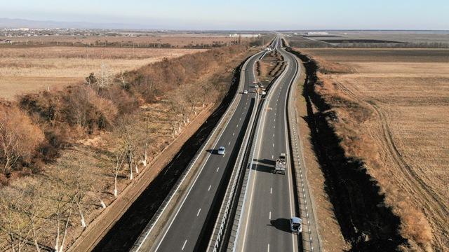 На 60% завершено строительство и реконструкция участка Р-217 «Кавказ» в Ингушетии
