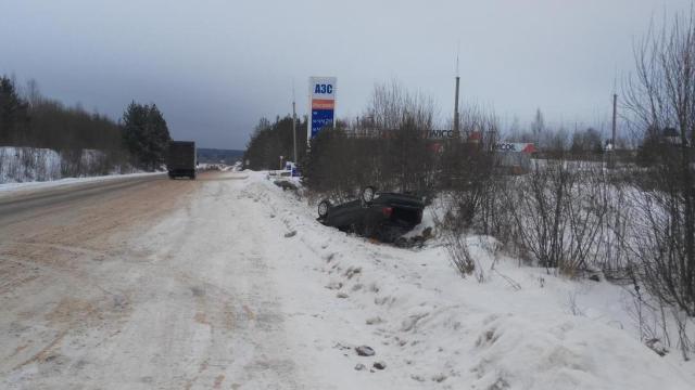 Под Костромой два человека получили травмы в ДТП
