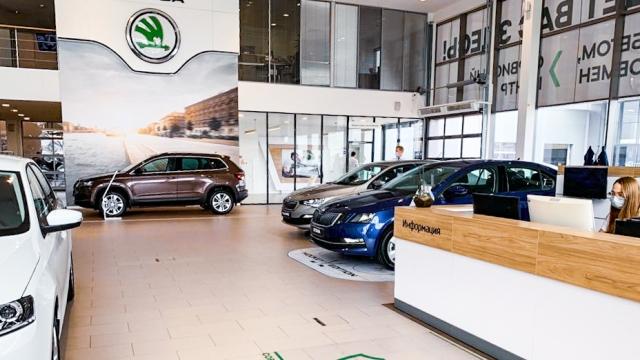 Продажи автомобилей ŠKODA в Петербурге бьют рекорды