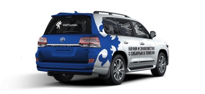По городам России будет ездить тюменское такси с подарками