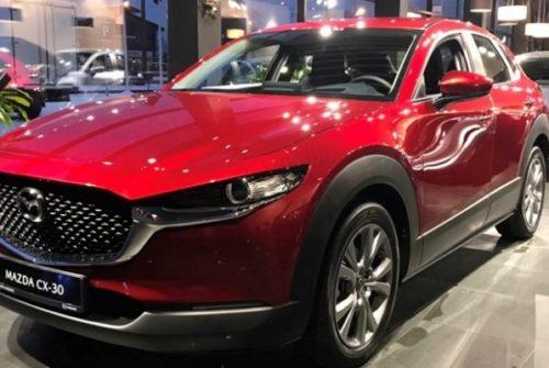 Долгожданные продажи Mazda CX-30 состоялись в Санкт-Петербурге