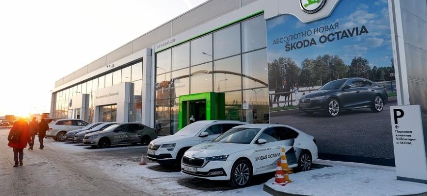 Дилеры ŠKODA WAGNER в Петербурге отмечают рекордный рост продаж автомобилей в прошлом году