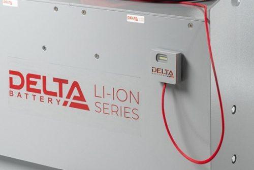 Бренд DELTA Battery представил широкую линейку Li-Ion аккумуляторов для складской и клининговой техники