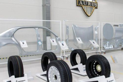 Новая разработка KAMA TYRES: шины для «Единой модульной платформы» в рамках мероприятия AURUS